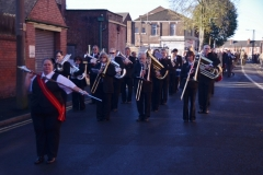 Long Eaton Remembrance Parade 10 November 2013