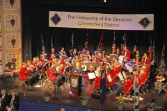 Fellowship of the Services Remembrance, Winding Wheel, Chesterfield