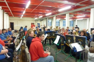 2015 The Start of a new Era: The Official Opening Of Our New Bandroom