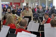 Donation of £600 To The Band By Tesco